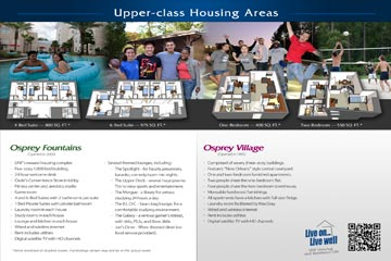 Upperclass Housing Area Flyer Thumbnail